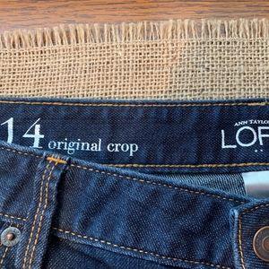Ann Taylor Loft Original Crop
